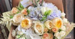 esküvői virág dekoráció