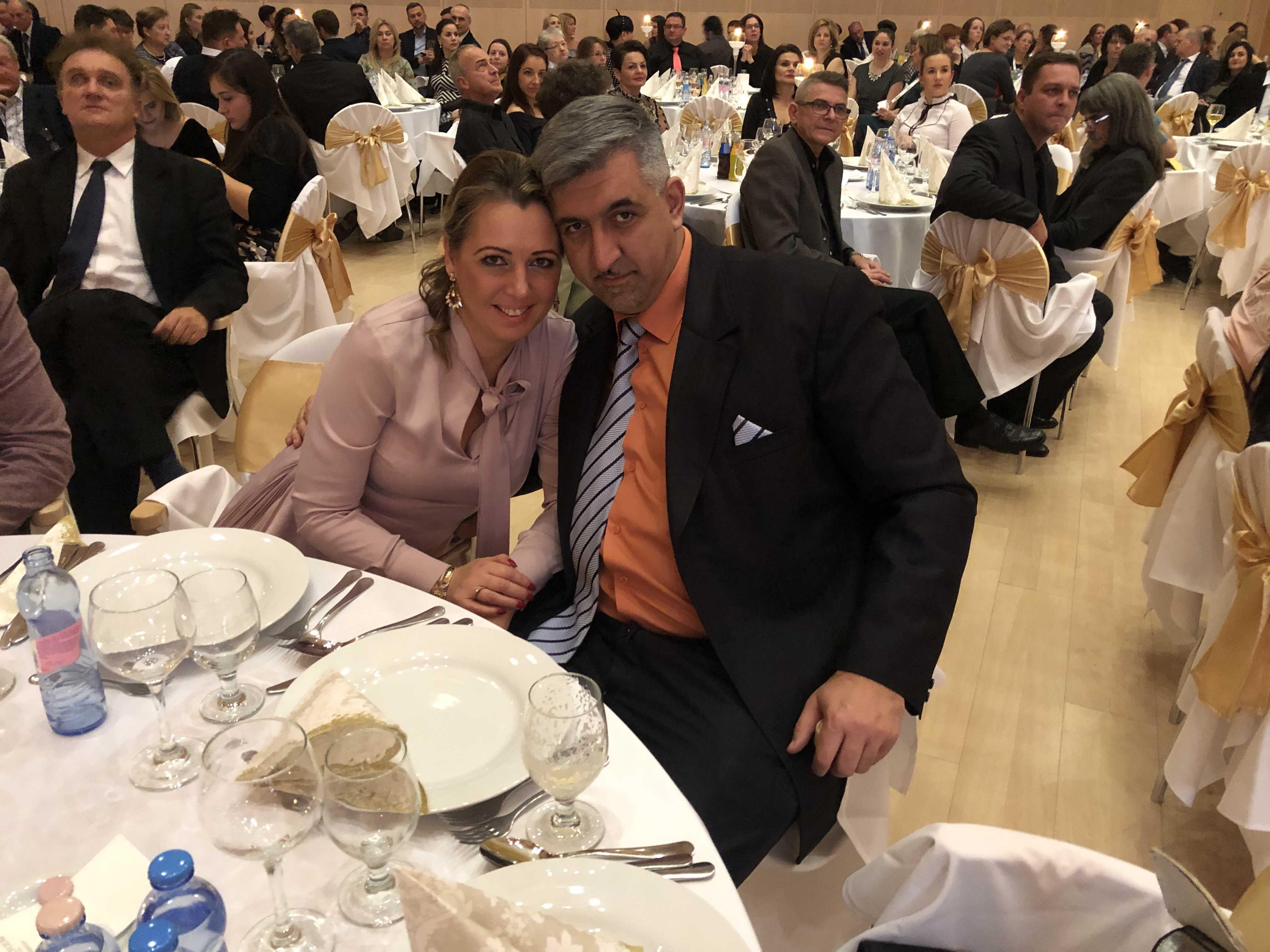 Debrecen gála vacsora