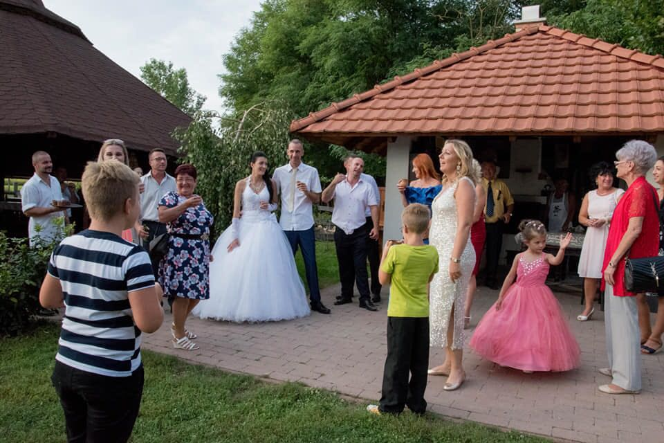 esküvői fogadó ital